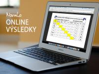 Novinka – Online výsledky